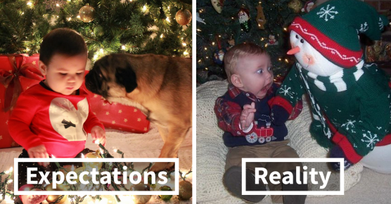 expectation vs reality holiday